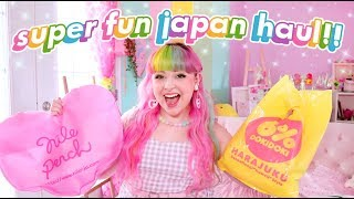 My Huge Fun Japan Haul 2019 🇯🇵🌈💕