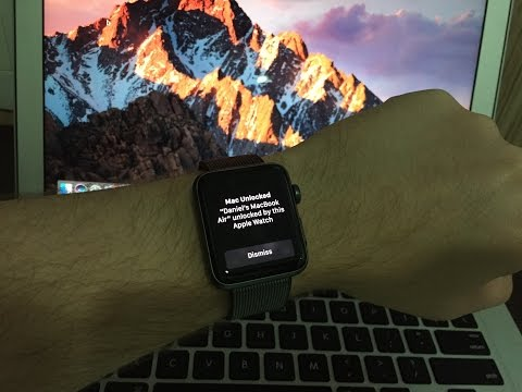 How to Unlock your Mac with your Apple Watch - Auto Unlock