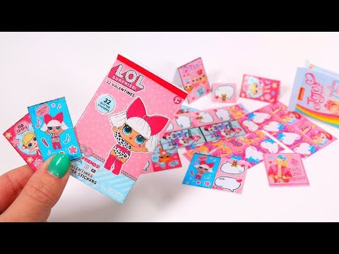 DIY LOL Surprise Doll & Jojo Siwa Valentines