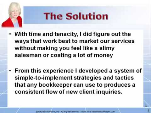 The Freelance Bookkeeper Marketing System