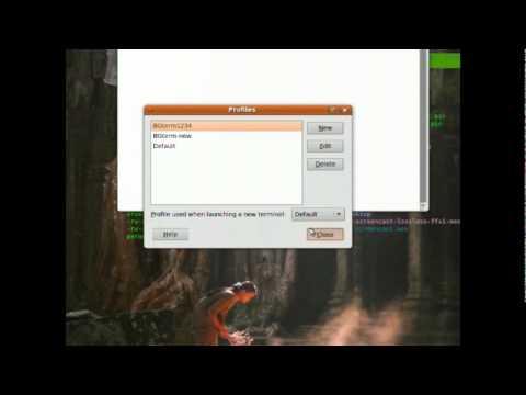 Put a transparent terminal on your desktop with Compiz