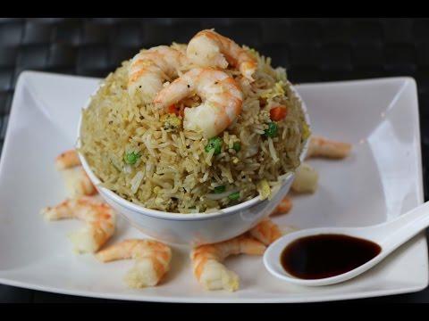 How to Make Shrimp Fried Rice - Shrimp Fried Rice Recipe
