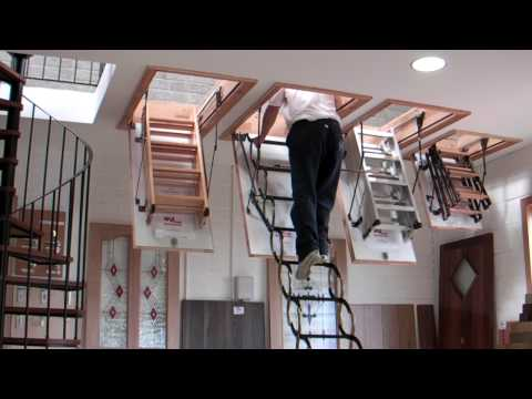 Murphy Larkin Attic Stairs, Attic ladders
