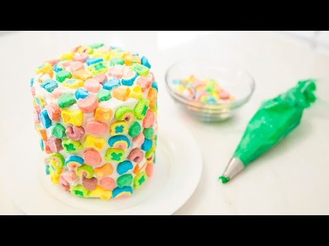 ST. PATRICK'S DAY LUCKY CHARM CAKE