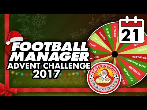 Football Manager 2018 Advent Challenge: 21st Dec #FM18   Football Manager 2018