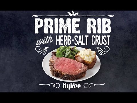 How To Make Prime Rib with Herb Salt Crust