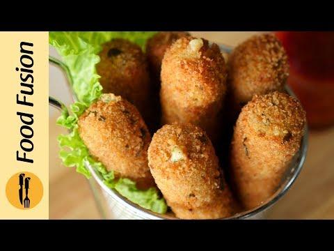 Chicken Mozzarella Sticks Recipe by Food Fusion