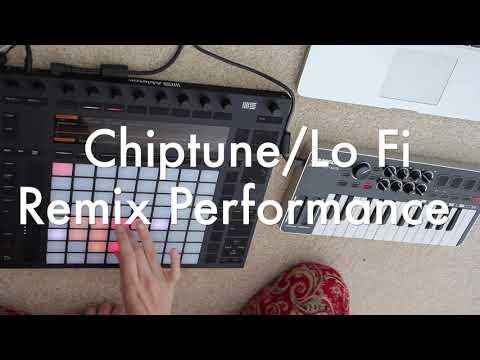 Chiptune / LoFi Hip Hop Push 2 Performance