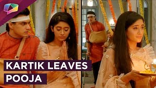 Kartik Leaves Pooja And Goes Away | Upset With Naira | Yeh Rishta Kya Kehlata Hai
