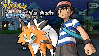 Pokemon Ultra Sun & Ultra Moon - Vs Ash Ketchum [Fake] (Alola team)