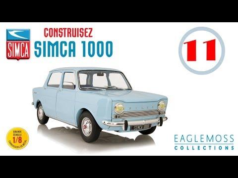 SIMCA 1000 ►échelle 1/8 ◄ Eaglemoss collections # fascicule 11