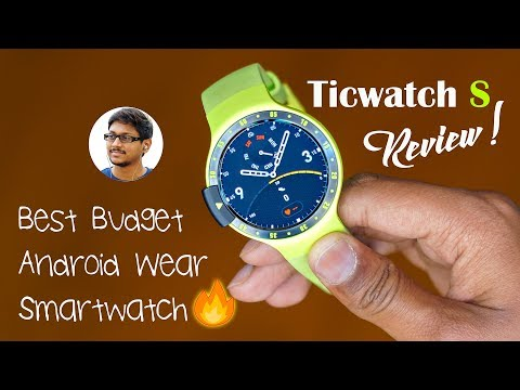 Ticwatch S Review India | Best Budget Android Wear Smartwatch!!