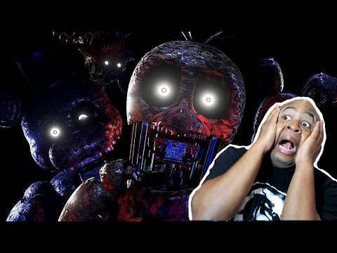 NEVER BEEN THIS SCARED IN MY LIFE!! - The Joy of Creation HALLOWEEN EDITION gameplay