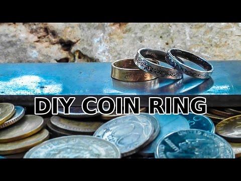 DIY Fancy Coin Rings