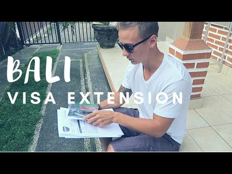 HOW TO EXTEND VISA IN BALI