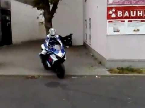 Brand New Motorcycle crash !