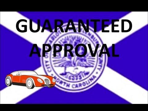Charlotte, NC Automobile Financing : Bad Credit Car Loans for No Money Down at Guaranteed Low Rates!