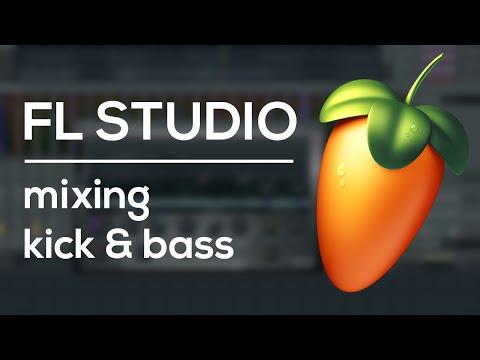 FL Studio Tutorial - Mixing Kick and Bass Like a Pro