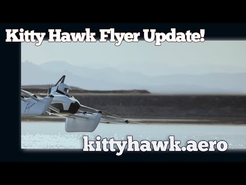 Kitty Hawk Flyer,  Electric Ultralight Aircraft Kitty Hawk Flying Car Update