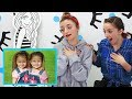 Reacting to Brooklyn and Bailey's 1st Singing Performance {Age 2}