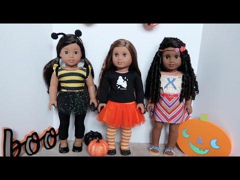 My American Girl Dolls Halloween Costumes! {2017}