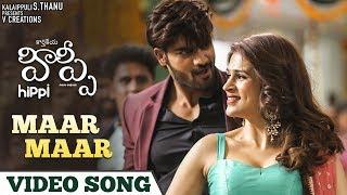 Maar Maar Full Video Song 4K | Hippi Telugu Movie Songs | Kartikeya | Digangana | MM Manasi