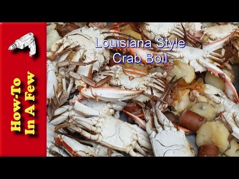How To: Boil Crabs Louisiana Style