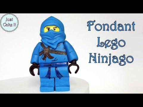 How to make fondant Lego Ninjago figure / Jak zrobić figurkę Lego Ninjago