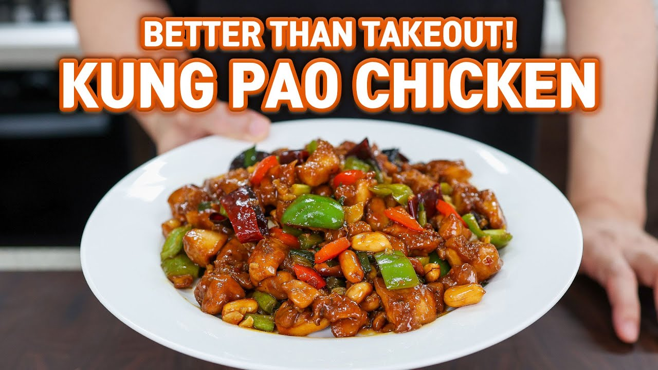 Perfect but Easy KUNG PAO CHICKEN at Home l Better Than Restaurants