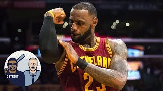 Will Blaze Pizza Help Recruit LeBron James To Lakers? | Jalen & Jacoby | ESPN