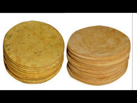 Khakhra or Khakra Recipe Video- Crispy Flat Bread