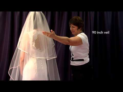 Elizabeth Dickens - Sizing and measuring of wedding veils