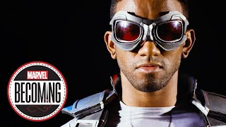 Cosplayer Blerd Vision Becomes Sam Wilson