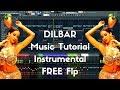 DILBAR Karaoke Instrumental Remake + Free Flp