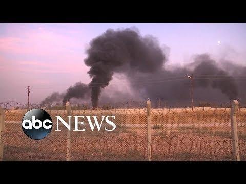 Xxx Mp4 War In Northern Syria Breaks Out As Turkey Attacks Kurdish Sites ABC News 3gp Sex