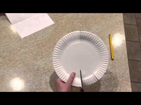 Paper Plate Holder/Basket
