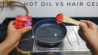 Hot oil vs hair jel experiment|| CREATOR YOGESG