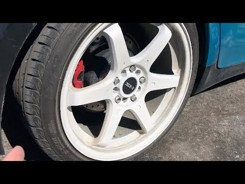 White Plasti Dipped Rims After A Month?