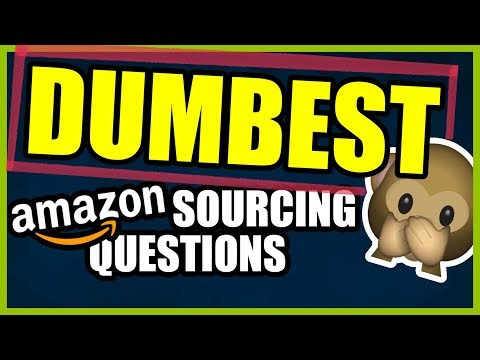 Dumbest FBA sourcing questions - How to find an Amazon supplier