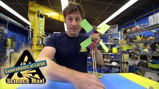 Science Max|Build It Yourself|MINI Wind Turbine| EXPERIMENT