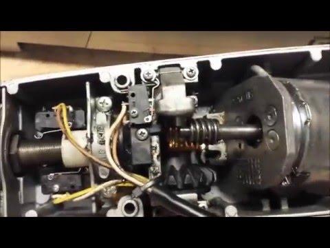 Liftmaster LA400 gate motor repair
