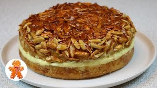 Download Пирог торт ″Укус пчелы″ (Bienenstich) ✧ Bee Sting Cake Recipe (English Subtitles) Video
