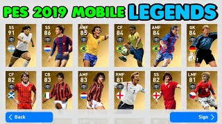 TOP 25 Defenders @ MAX Level in PES 19 Mobile (Feat  Varane