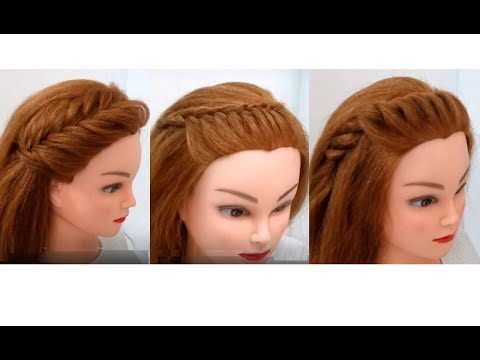 How to Style Front Hair: 3 Easy Hairstyles
