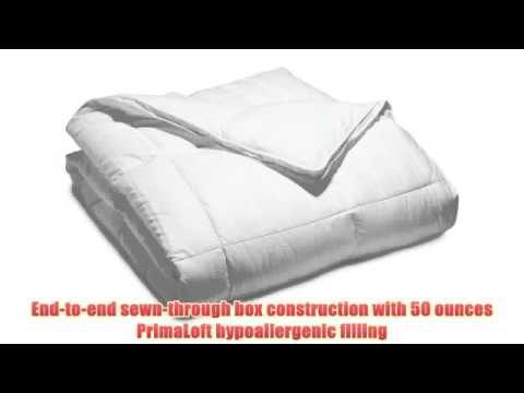 Pinzon Hypoallergenic Medium Warm- The best lightweight down comforter