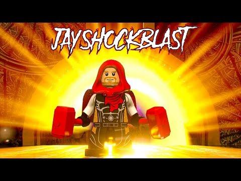 LEGO Marvel Super Heroes 2 JayShockblast Free Roam Gameplay (Custom Character)