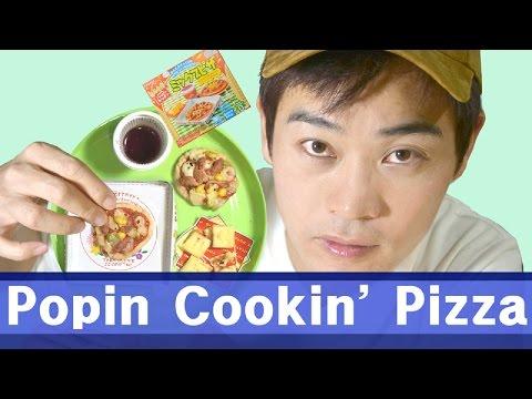 Kracie Popin' Cookin' Pizza : Comida Miniatura