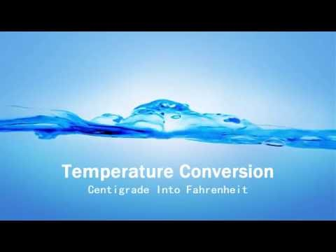 How To Convert Fahrenheit Into Celsius   In C++