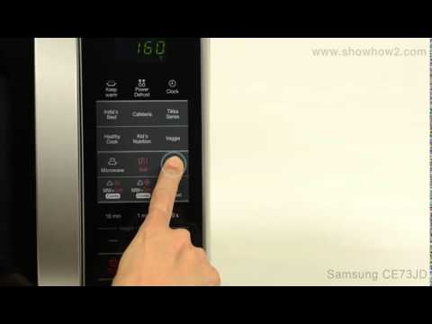 Samsung Ce73jd Convection Microwave Oven How To Set Up Convection Coo