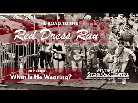 The Road to the Red Dress Run – Part 1